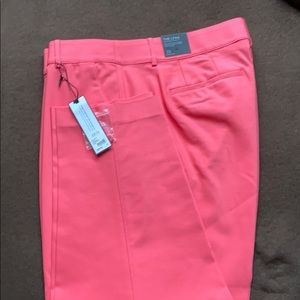 Pink ankle pants